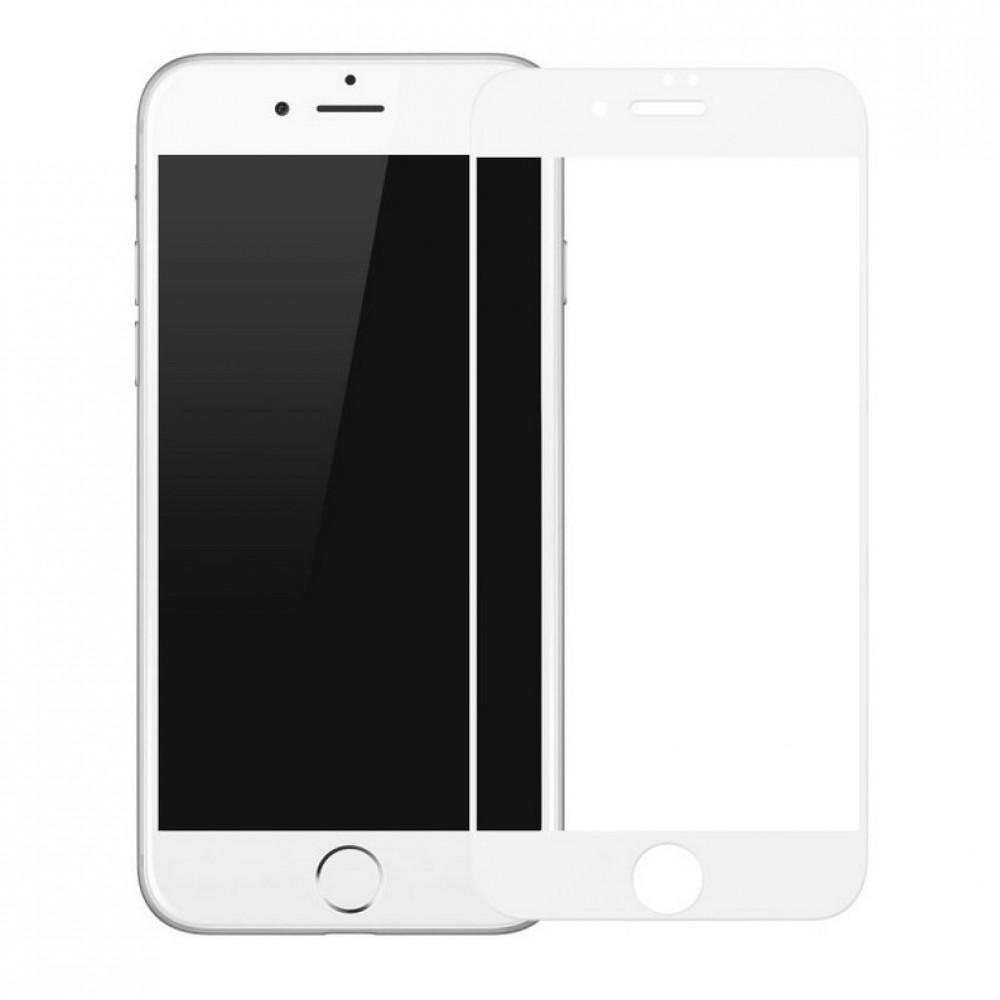 Защитное стекло Baseus Tempered Glass All Screen Arc Surface 0.3mm for iPhone 8 Plus/7 Plus White (SGAPIPH8P-KA02)