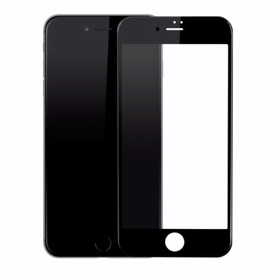 Защитное стекло Baseus Tempered Glass All Screen Arc Surface 0.3mm for iPhone 8 Plus/7 Plus Black (SGAPIPH8P-KA01)