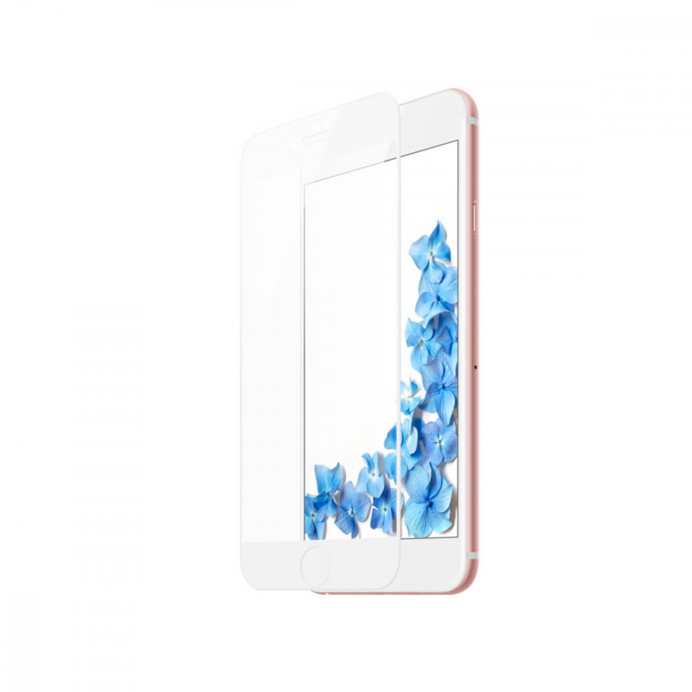 Защитное стекло Baseus Tempered Glass All Screen Arc Surface 0.3mm для iPhone 8 Plus/7 Plus White (SGAPIPH8P-KA02)