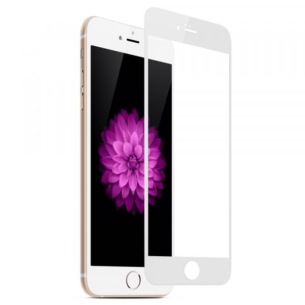 Защитное стекло 4D MyTouch для iPhone 7/8 White (UP51406)