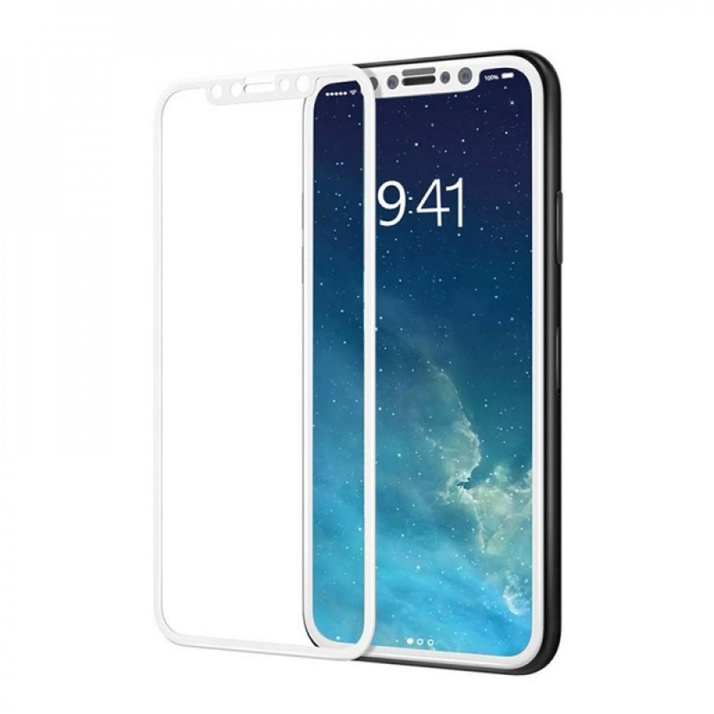 Защитное стекло MyTouch 5D iPhone X/XS/11 Pro White (UP51553)