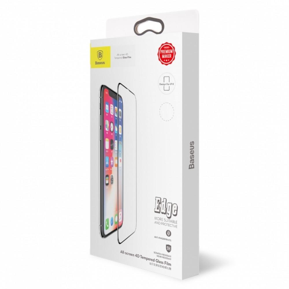 Защитное стекло Baseus для iPhone X/XS/11 Pro Black (SGAPIPHX-KE01)