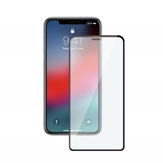 Защитное стекло Baseus 0.25mm Full-glass Anti-fingerprint Tempered Glass Film для iPhone X/XS Transparent (SGAPIPHX-LE02)