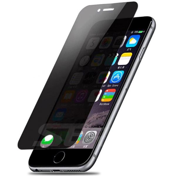 Защитное стекло для iPhone 6 Plus/6s Plus Privacy Анти-шпион (Black)