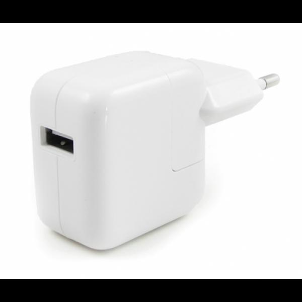 Оригинальная Зарядка для iPad 4, mini 2 (retina), Air (адаптер переходник) (12W 2.4A) (MD836)