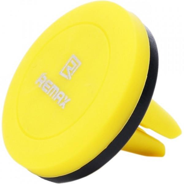 Автомобильный держатель Remax RM-C10 Yellow\Black