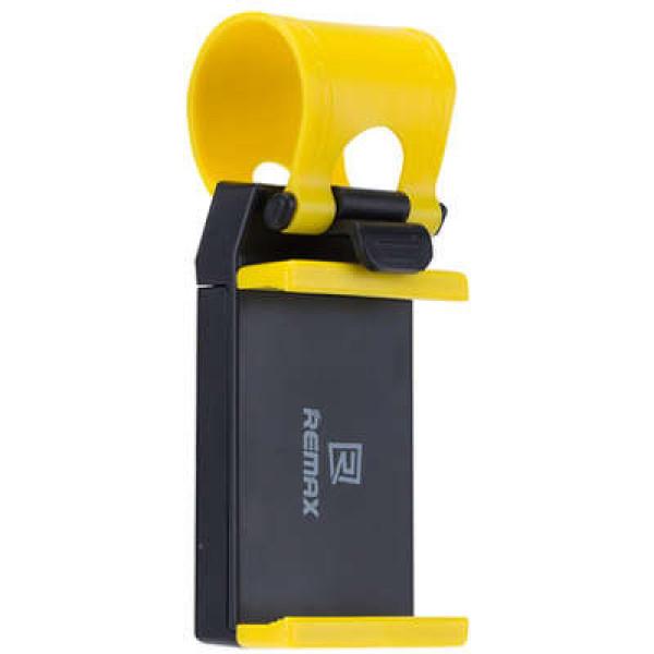 Автомобильный держатель Remax RM-C11 Black\Yellow