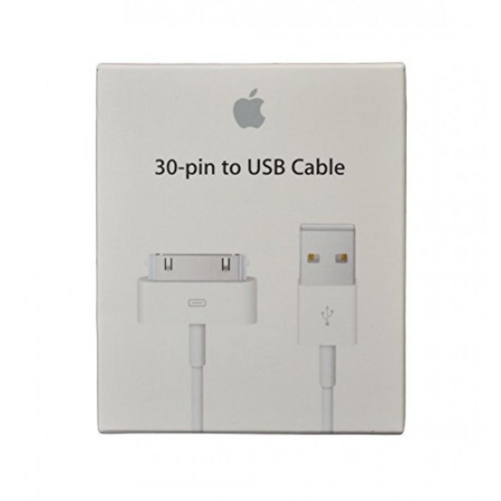 Оригинальная зарядка кабель 30-pin (зарядное устройство) для iPhone 4, 4s, 3g, 3gs USB кабель, iPad 1, 2, 3 (MA591)