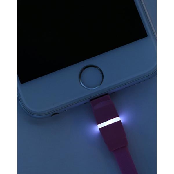 Кабель Remax Breathe Lightning-USB (RC-029i) White