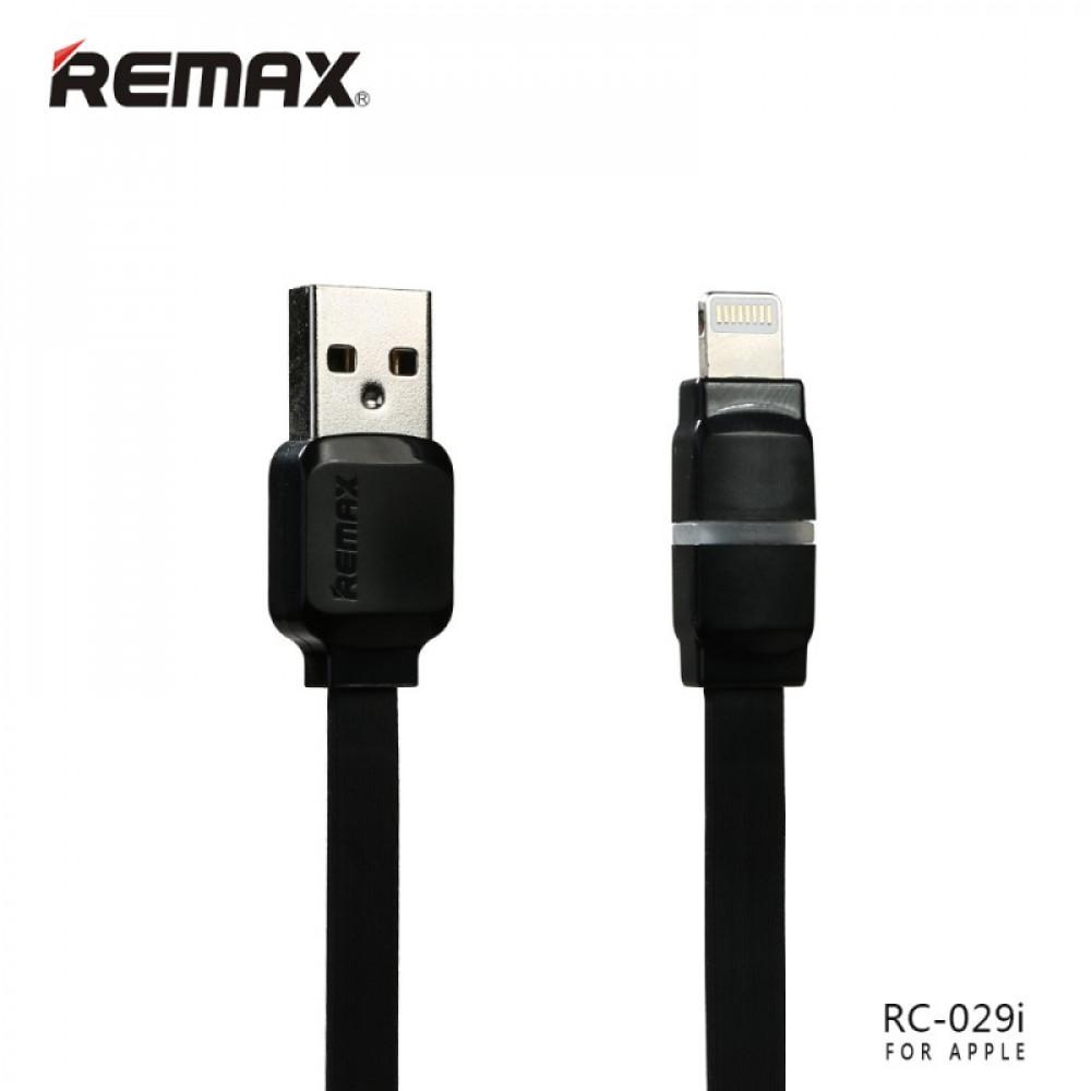 Кабель Remax Breathe Lightning-USB (RC-029i) Black