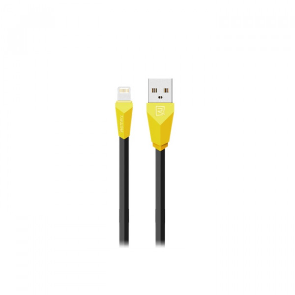Кабель Remax Aliens Lightning-USB (RC-030i) Yellow