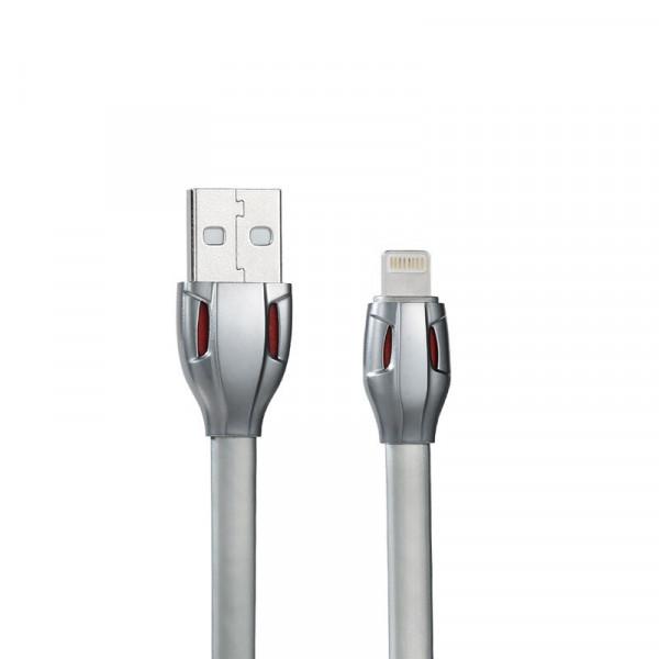 Кабель Remax Laser Lightning-USB (RC-035i) Silver