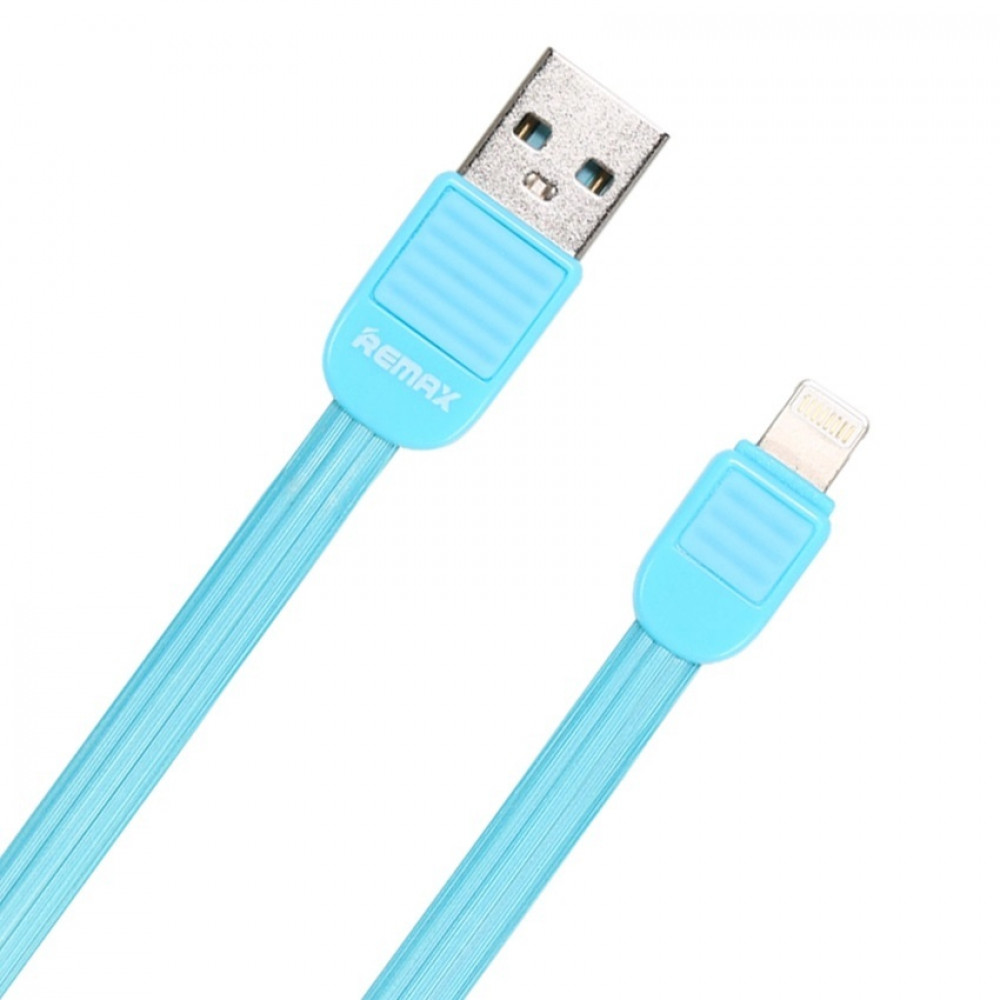 Кабель Remax Puff Lightning-USB (RC-045i) Blue