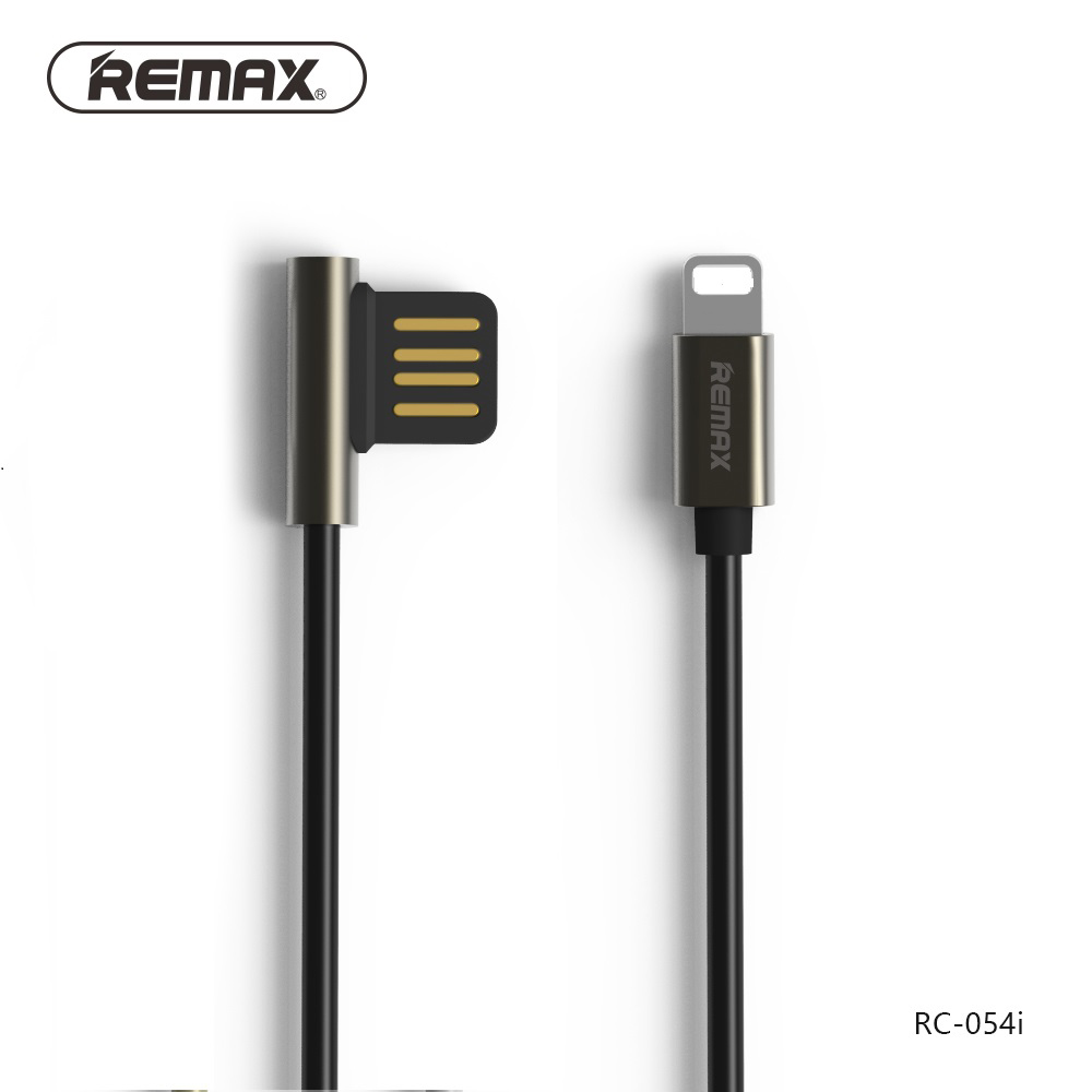 Кабель Remax Emperor Lightning-USB (RC-054i) Black