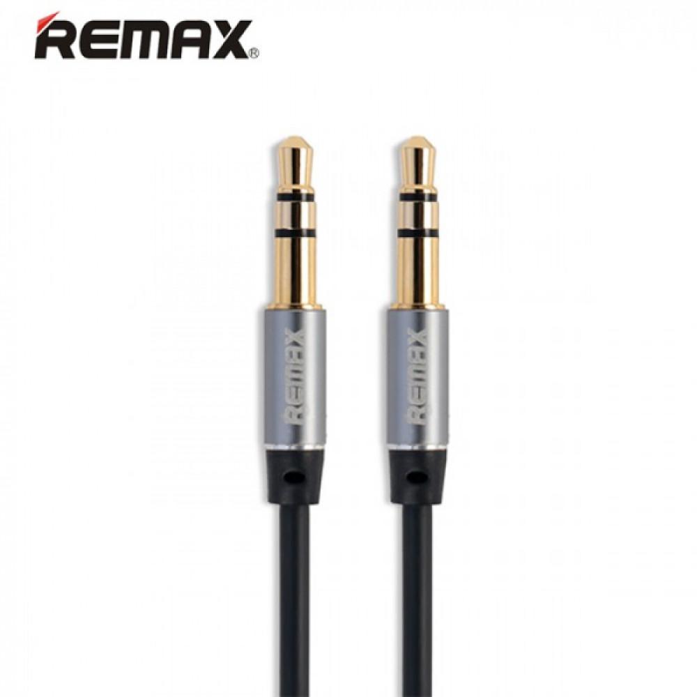 AUX-кабель Remax 3.5mm Stereo Cable 1м (RL-L100) Чёрный