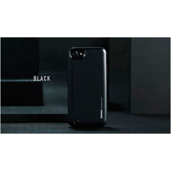 Чехол-аккумулятор Remax (PN-01) 2400mAh на iPhone 7 / 8 / SE (2020) Black