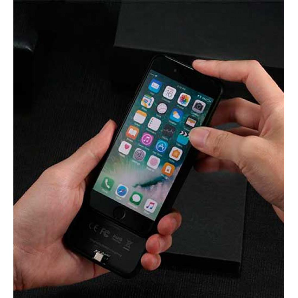 Купить Чехол-аккумулятор Remax (PN-01) 2400mAh для iPhone 7 / 8 Black
