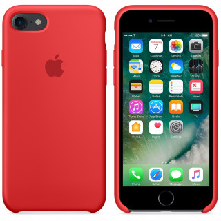 Чехол Apple Silicone Case для iPhone 8/7 PRODUCT (RED) Original (MQGP2)