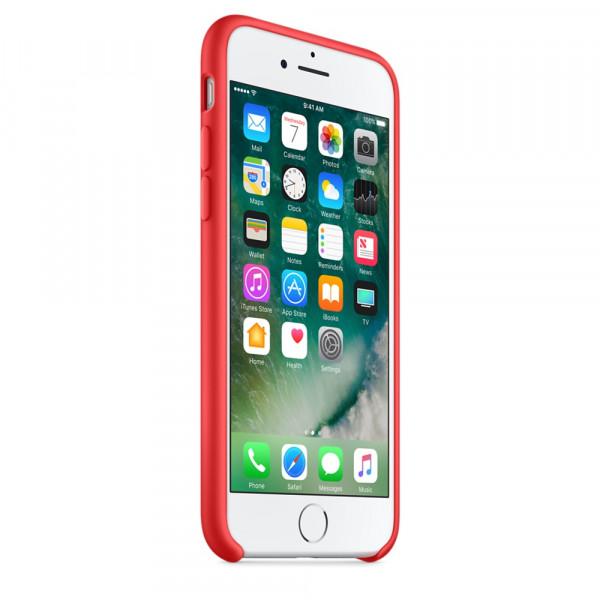 Чехол Silicone Case на iPhone 7 / 8 / SE (2020) Product (Red) OEM