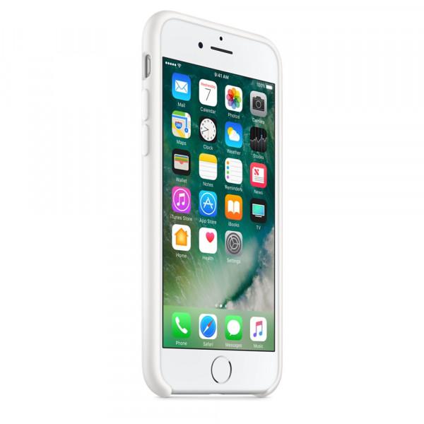 Чехол Apple Silicone Case на iPhone 7 / 8 / SE (2020) White Original (MQGL2)