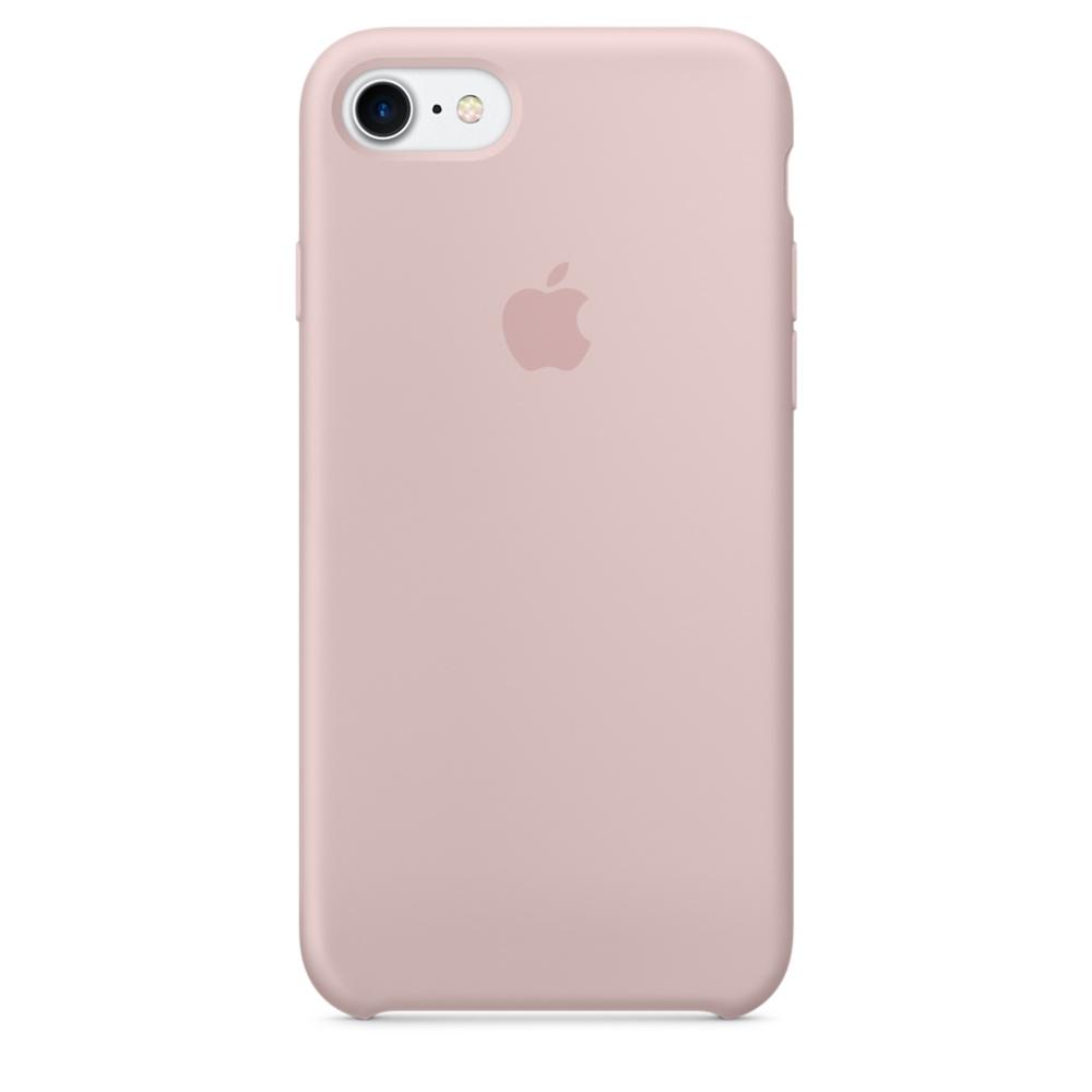 Чехол Apple Silicone Case для iPhone 8/7 Pink Sand Original (MQGQ2)