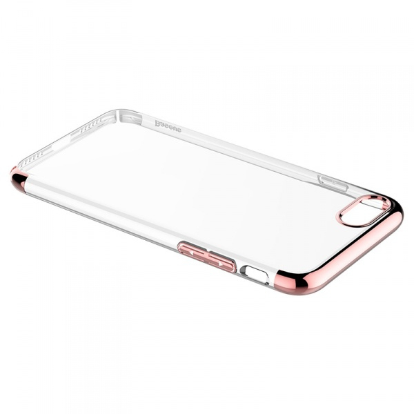 Чехол Baseus Super Slim Gold на iPhone 7 / 8 / SE (2020)