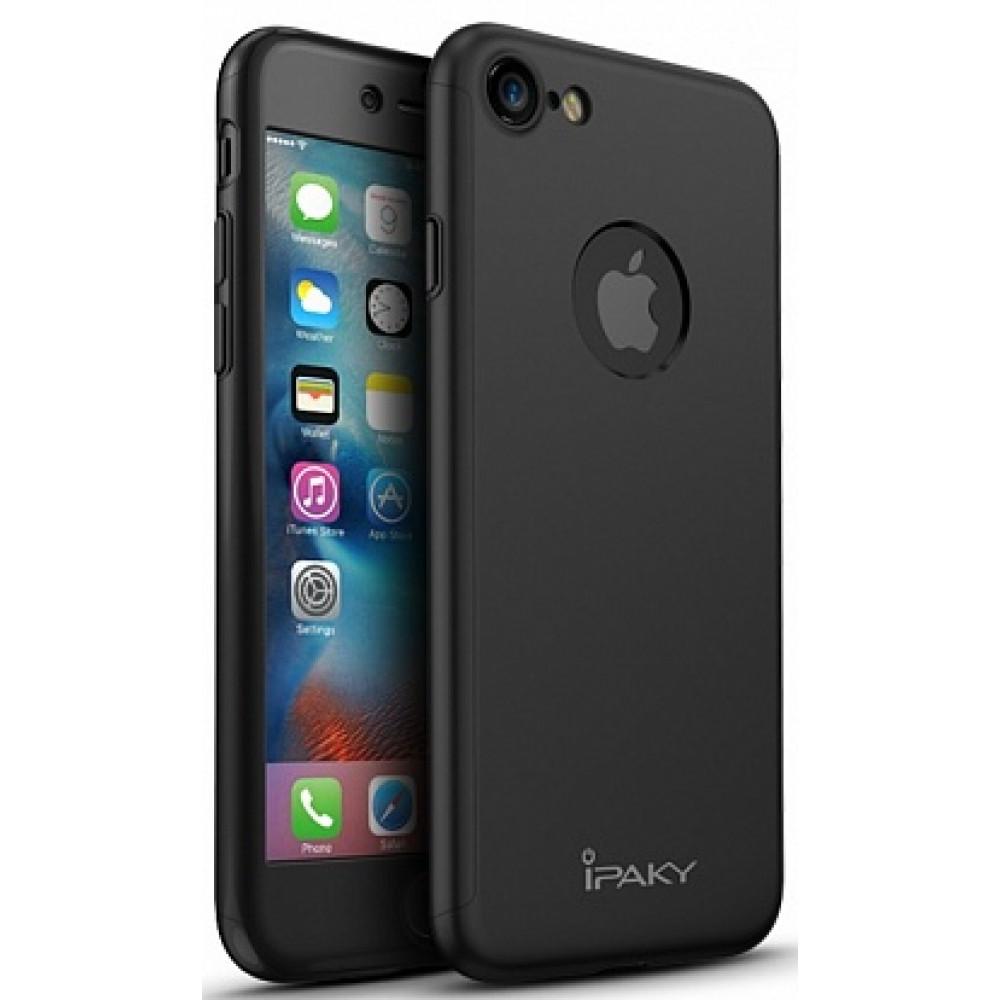 Чехол iPaky 360 Black для iPhone 7/8