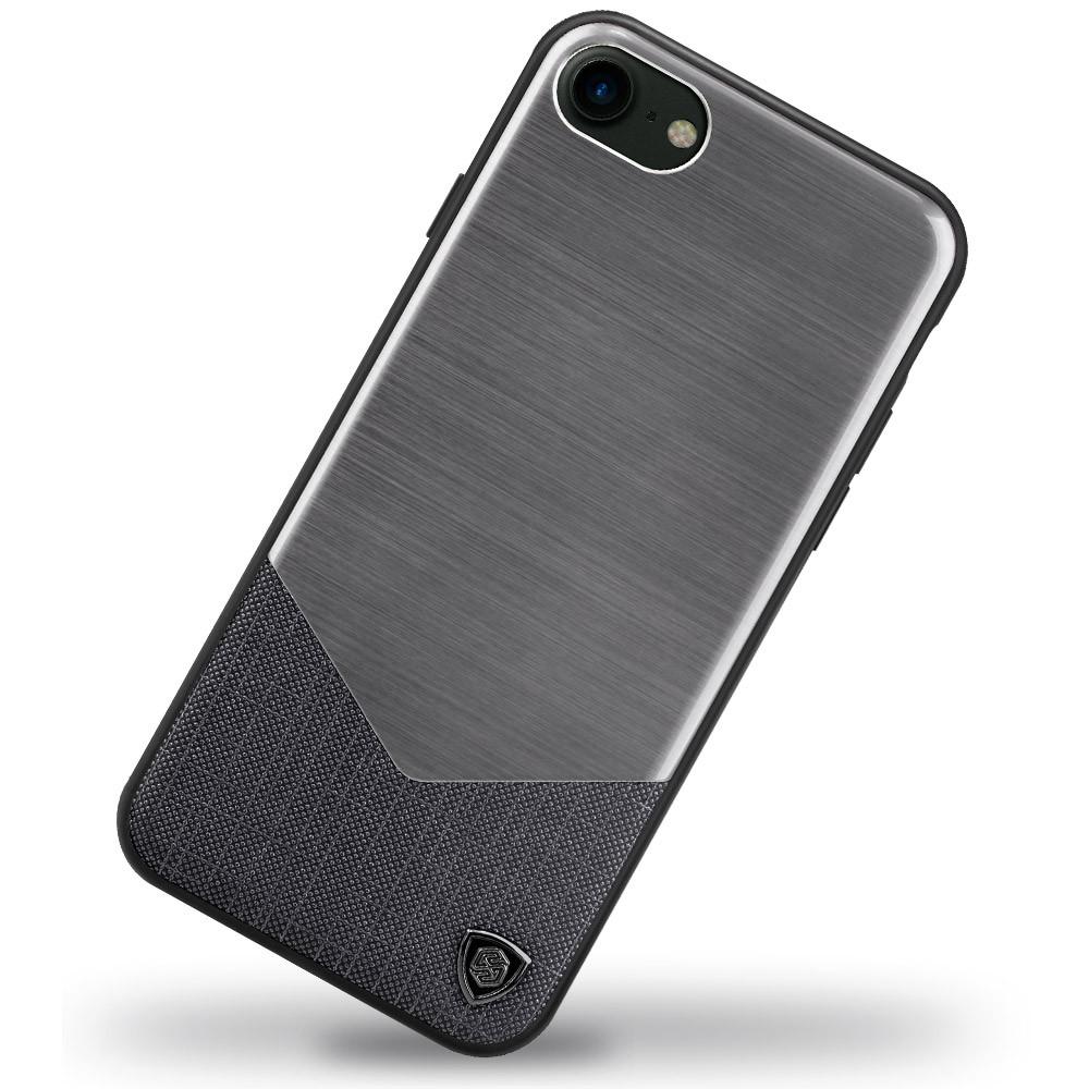 Чехол Nillkin Lensen Black на iPhone 7 / 8 / SE (2020)