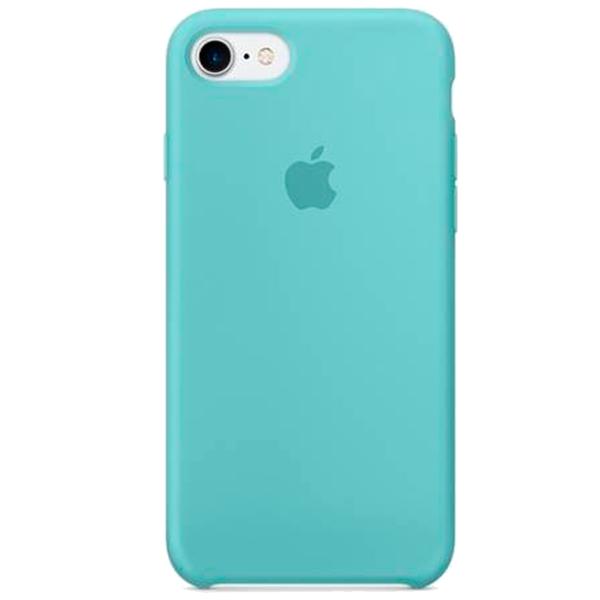 Чехол Silicone Case для iPhone SE / 5s / 5 (Tiffany)