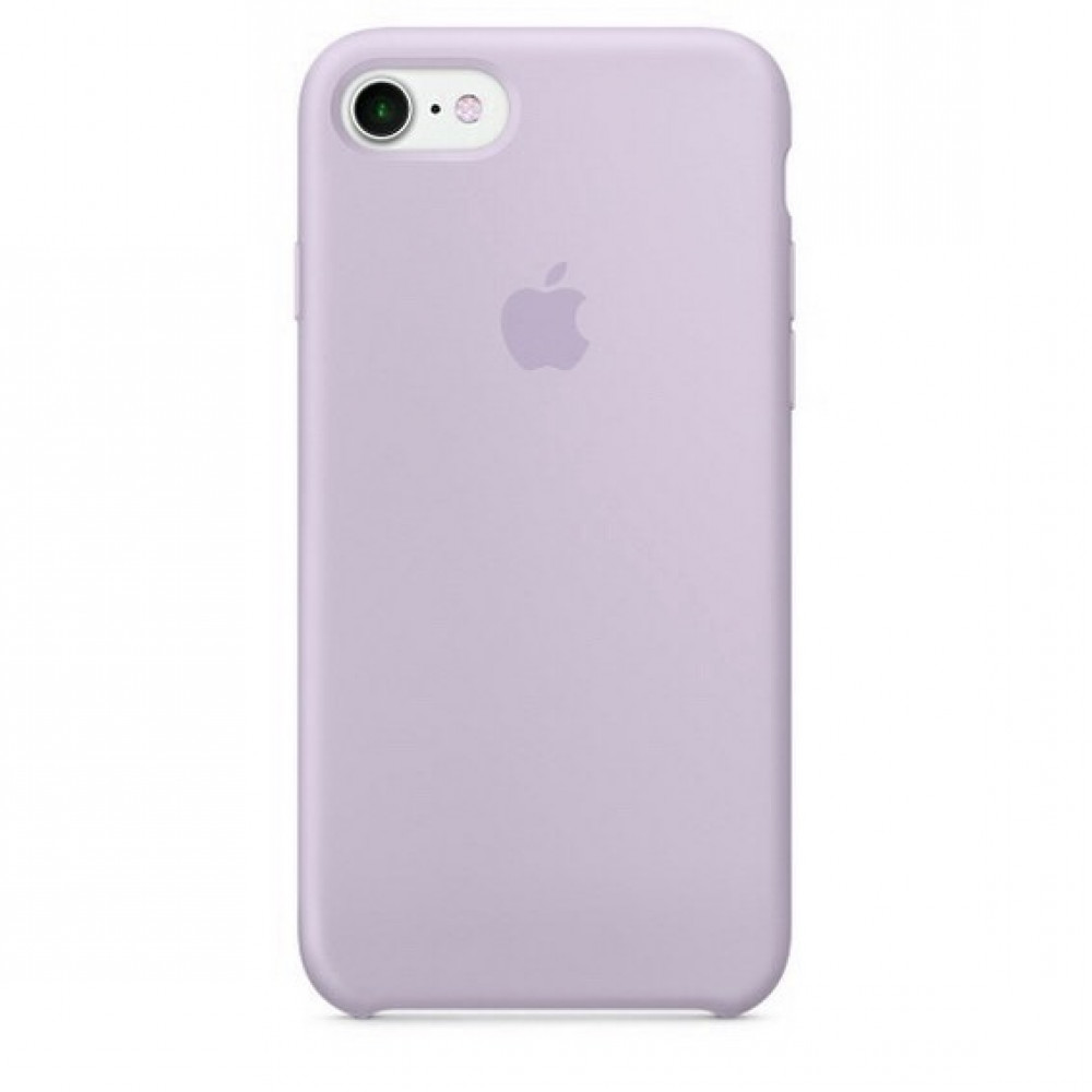 Чехол Silicone Case для iPhone SE / 5s / 5 (Lavender)