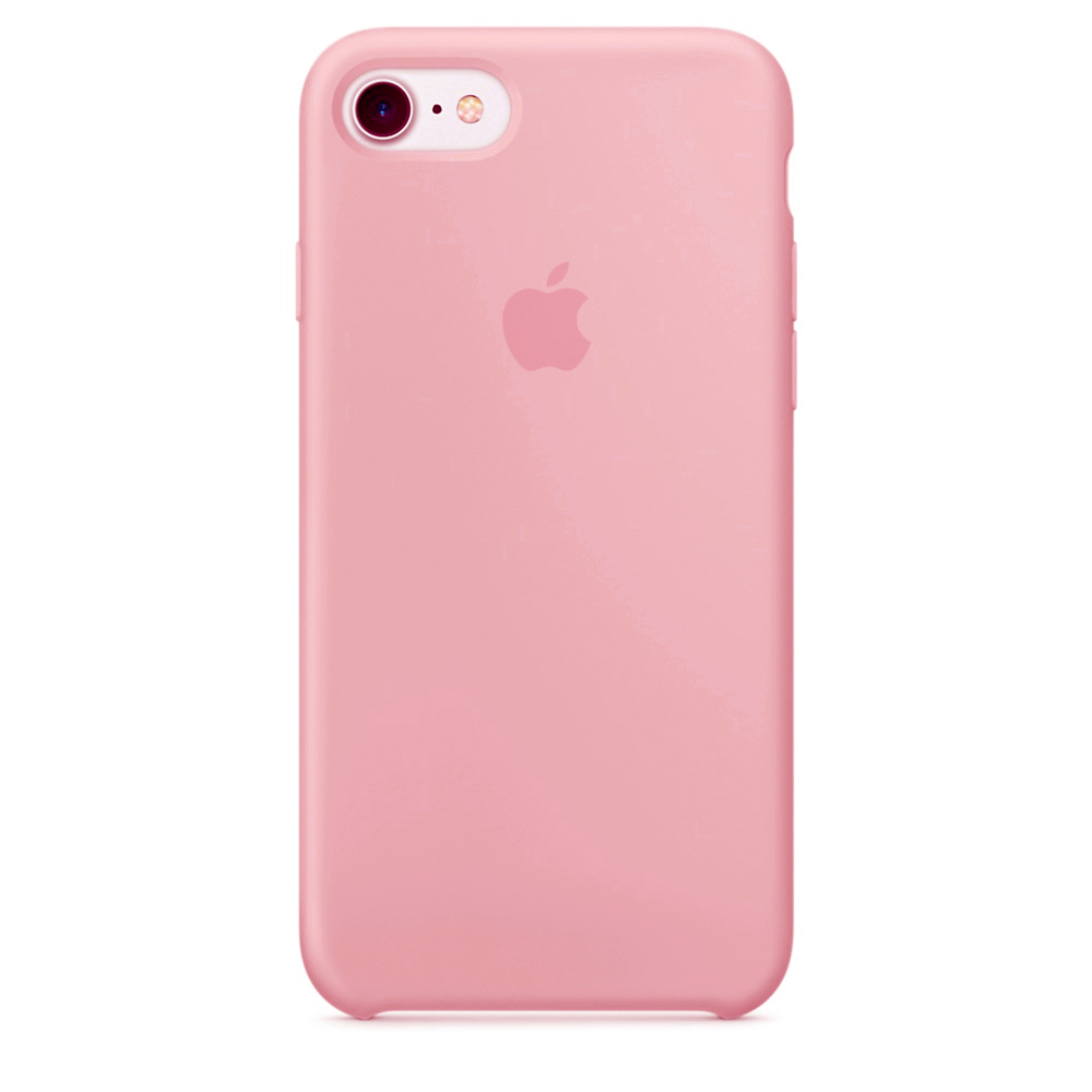 Чехол Silicone Case для iPhone SE / 5s / 5 (Candy Pink)