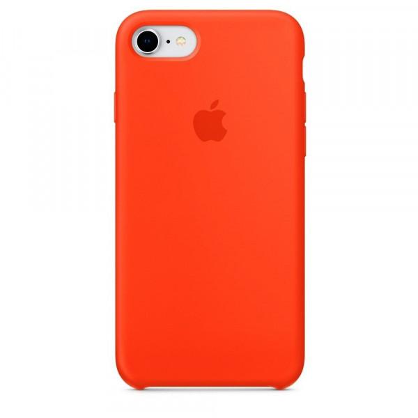 Чехол Silicone Case для iPhone SE / 5s / 5 (Orange)