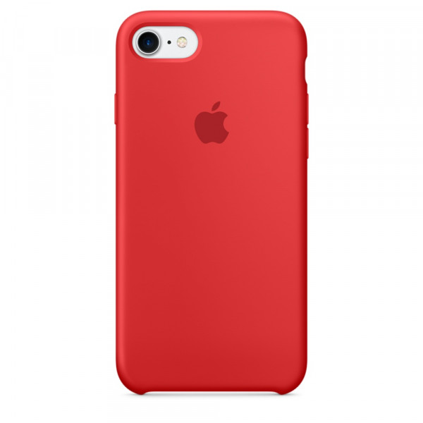 Чехол Silicone Case для iPhone SE / 5s / 5 (Red)