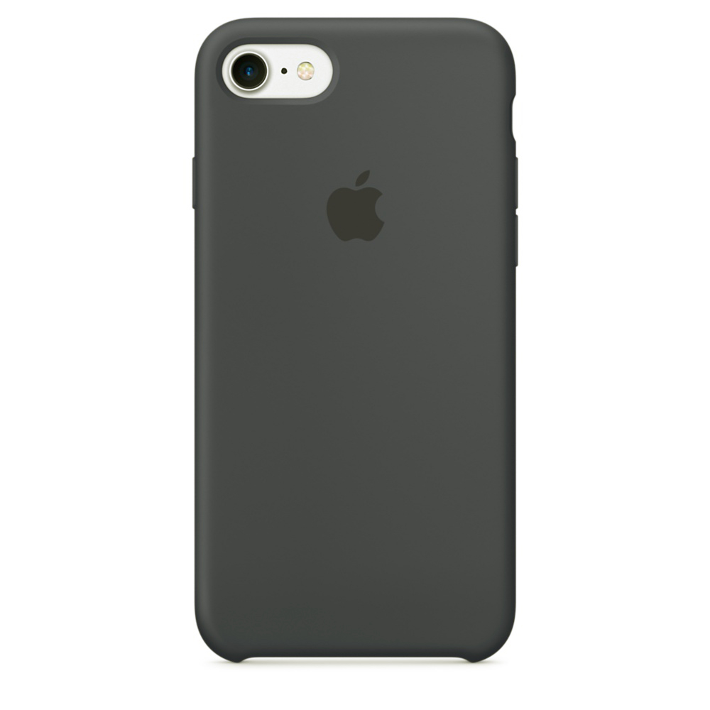 Чехол Silicone Case для iPhone SE / 5s / 5 (Charcoal Gray)