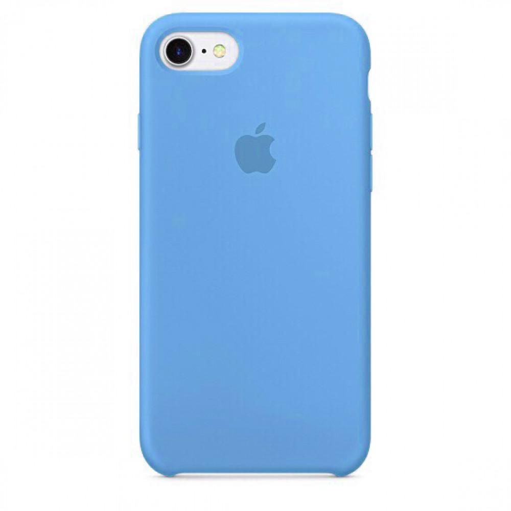 Чехол Silicone Case (copy) для iPhone 5/5s/SE Blue