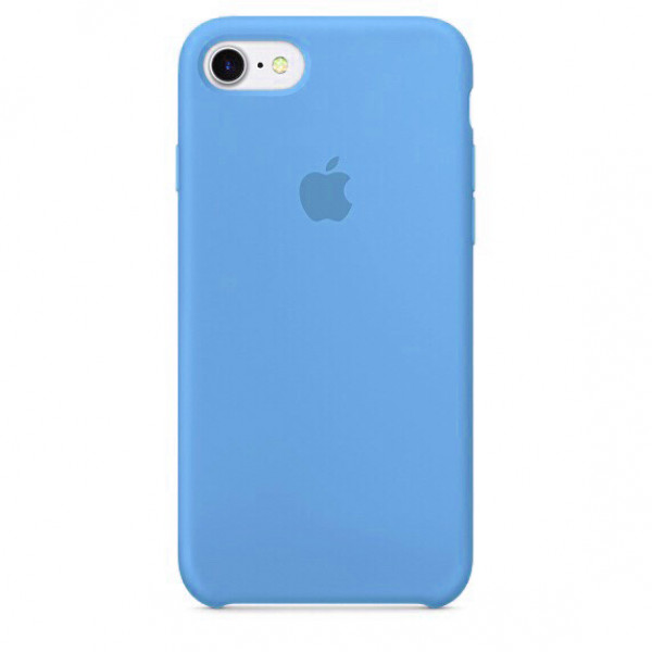 Чехол Silicone Case для iPhone SE / 5s / 5 (Blue)