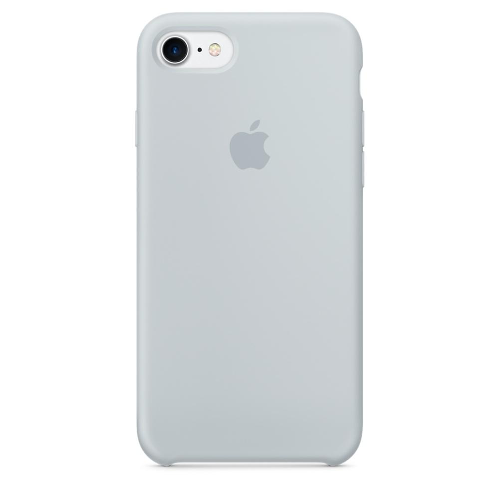 Чехол Silicone Case (copy) для iPhone 5/5s/SE Mist Blue