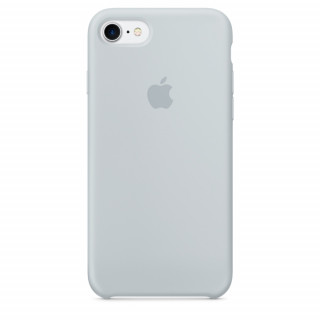 Чехол Silicone Case (copy) для iPhone 5/5s/SE Mist Blue