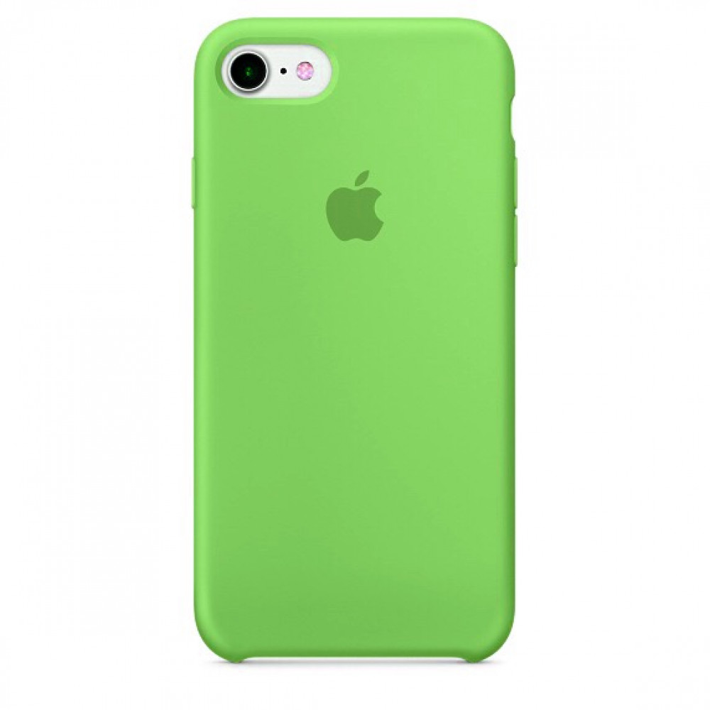 Чехол Silicone Case для iPhone SE / 5s / 5 (Grass Green)
