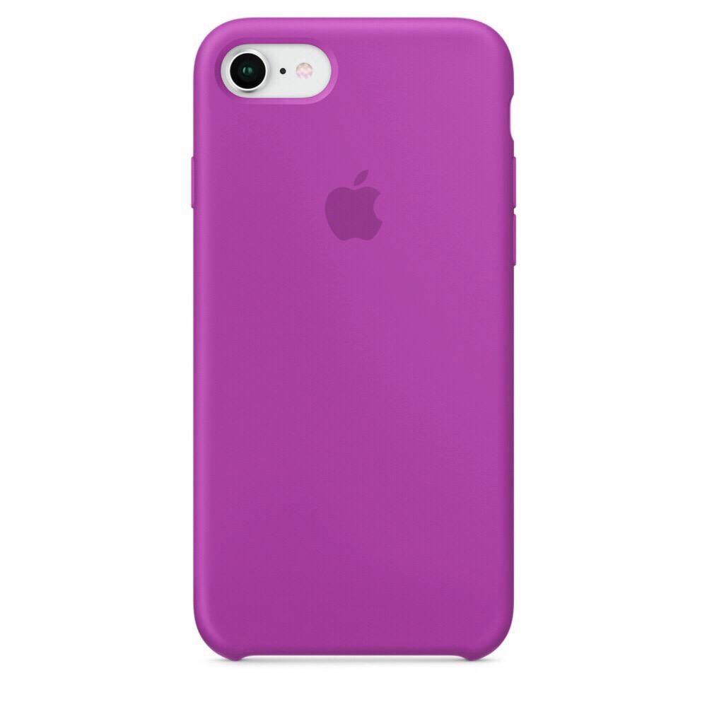 Чехол Silicone Case (copy) для iPhone 5/5s/SE Brinjal