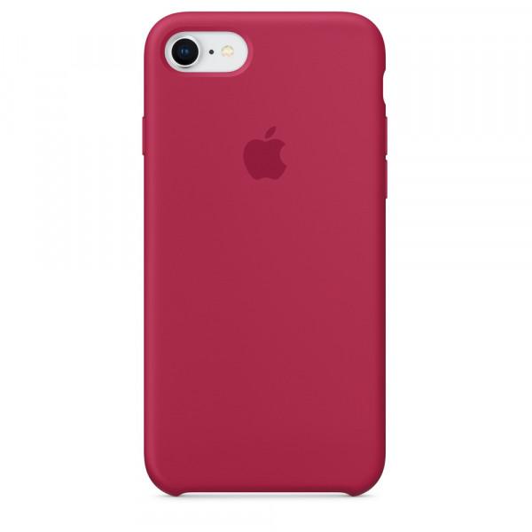 Чехол Silicone Case для iPhone SE / 5s / 5 (Rose Red)