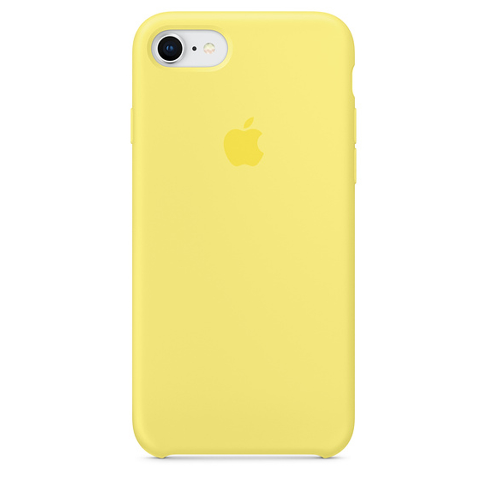 Чехол Silicone Case для iPhone SE / 5s / 5 (Lemonade)