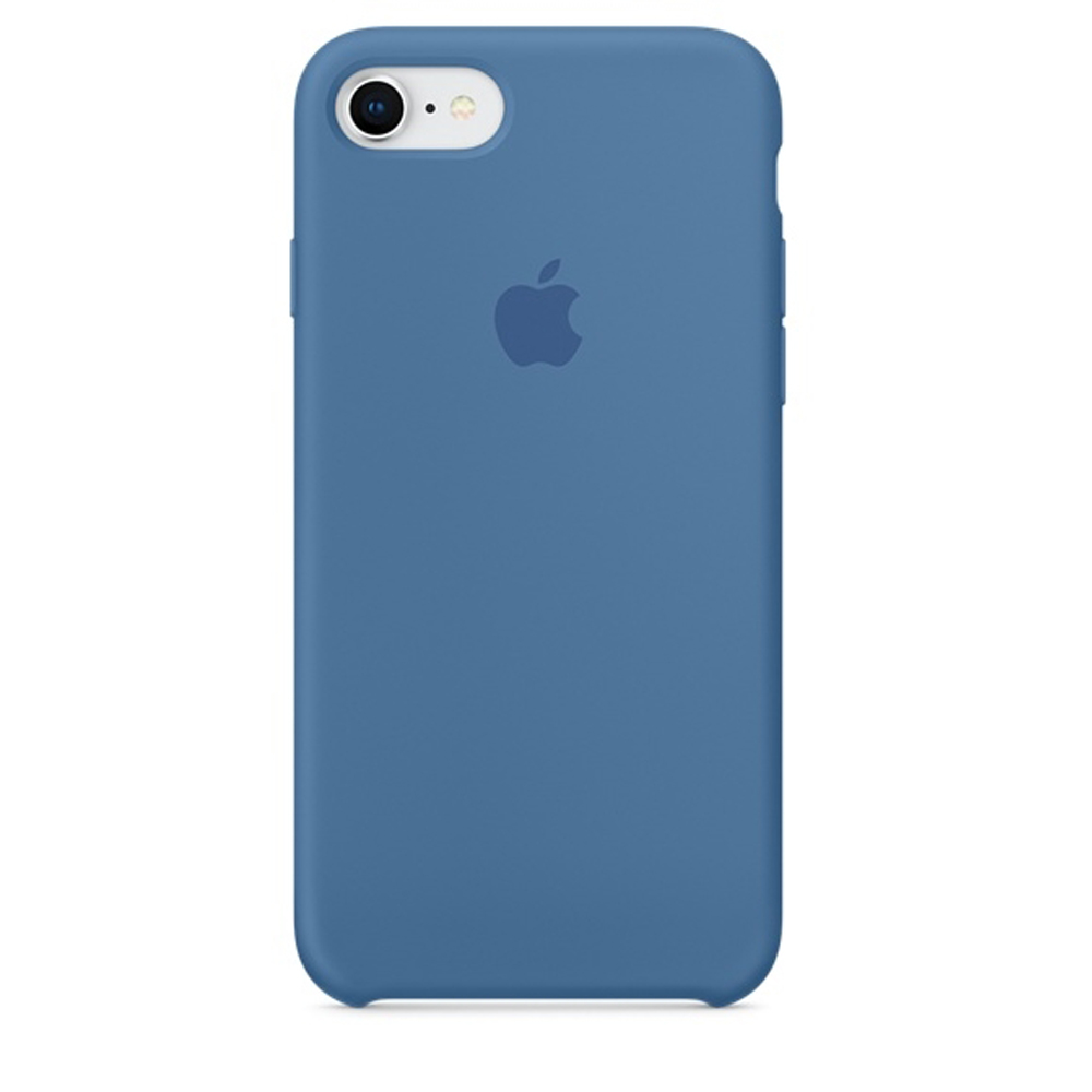 Чехол Silicone Case для iPhone SE / 5s / 5 (Denim Blue)