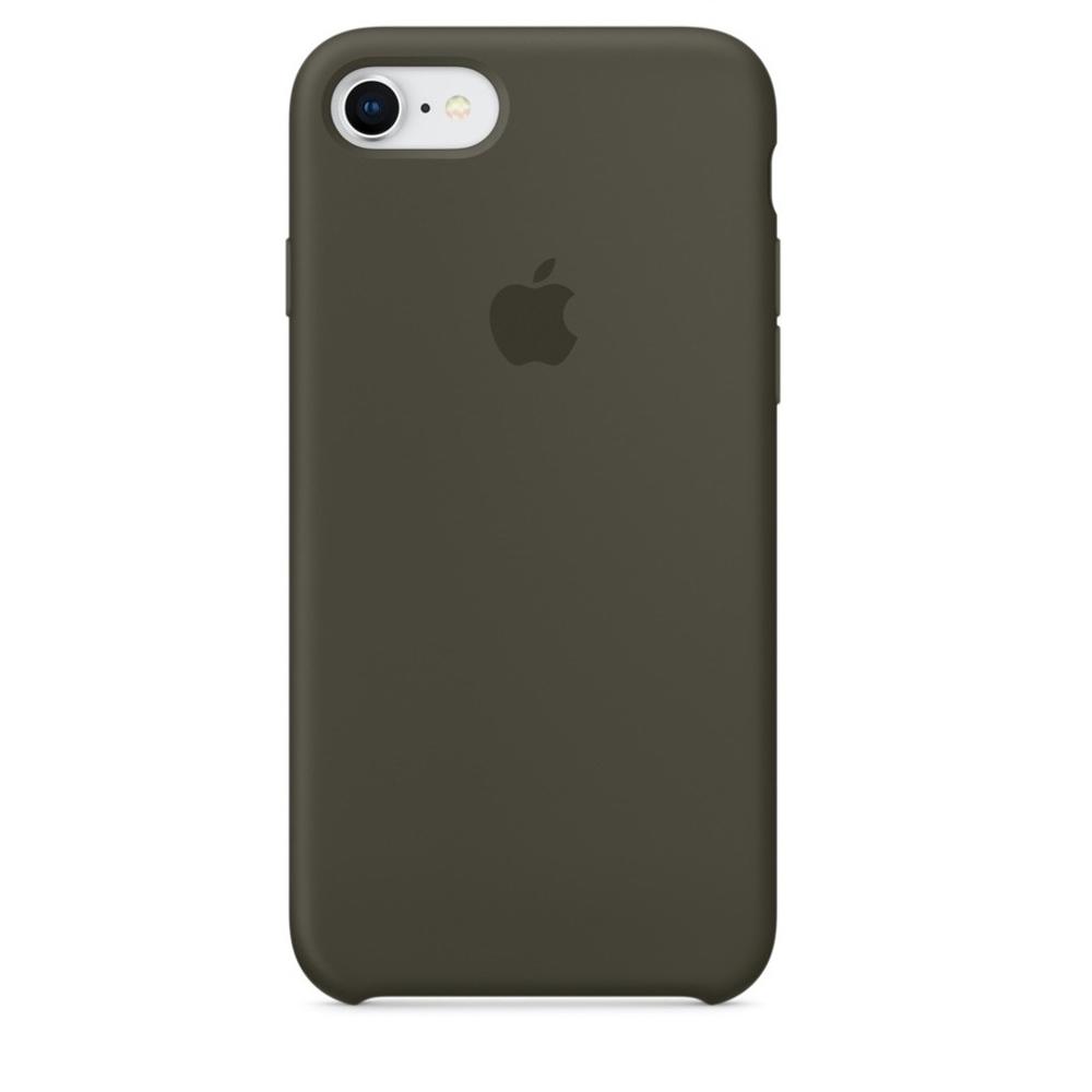 Чехол Silicone Case (copy) для iPhone 5/5s/SE Dark Olive