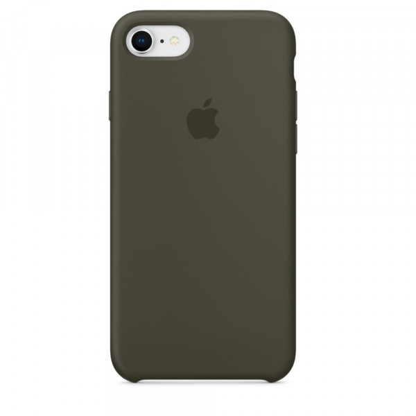 Чехол Silicone Case для iPhone SE / 5s / 5 (Dark Olive)