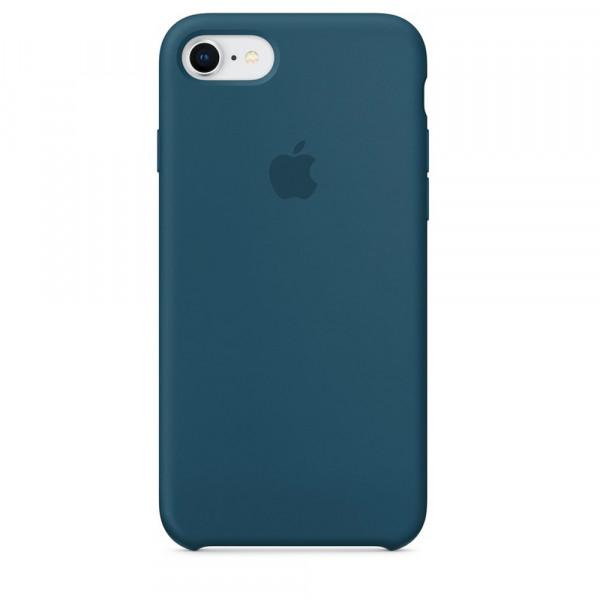 Чехол Silicone Case для iPhone SE / 5s / 5 (Cosmos Blue)