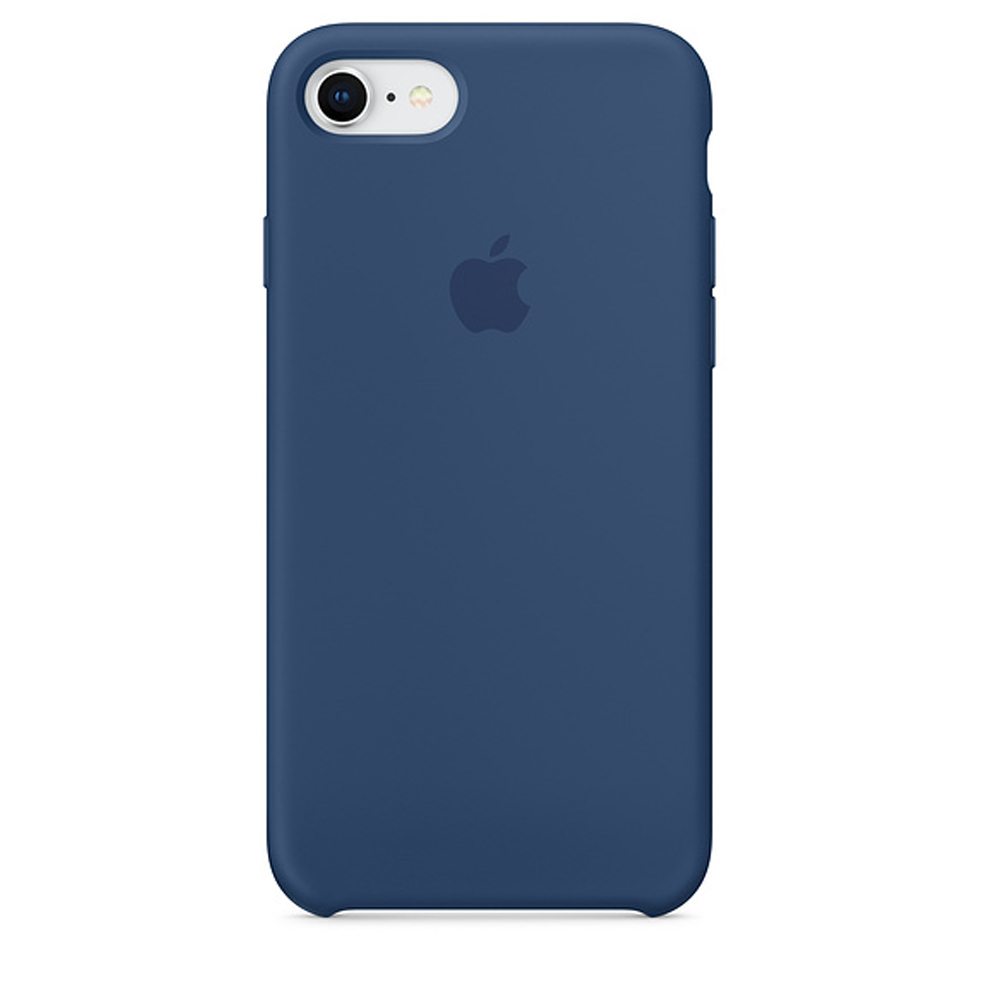 Чехол Silicone Case для iPhone SE / 5s / 5 (Blue Cobalt)