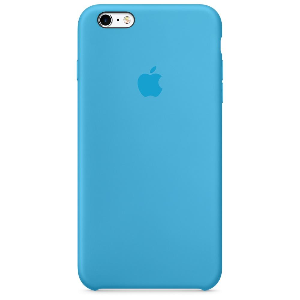 Силиконовый чехол Apple Silicone Case Blue (MKY52) для iPhone 6/6s
