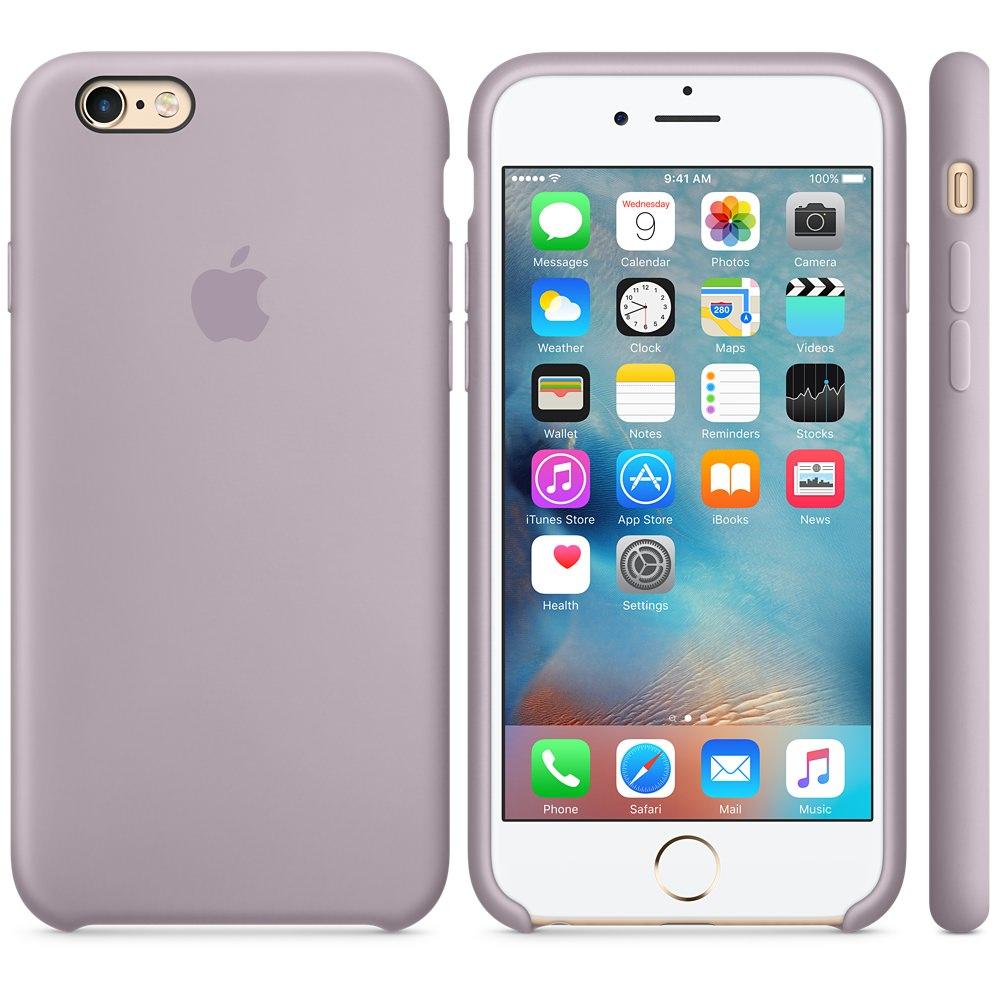 Силиконовый чехол Apple Silicone Case Lavender (MLD02) для iPhone 6 Plus/6s Plus