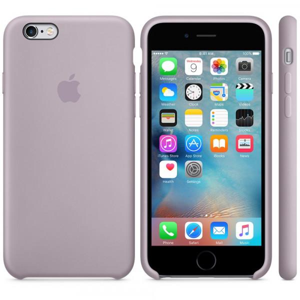 Чехол Silicone Case для iPhone 6 Plus/6s Plus Lavender OEM